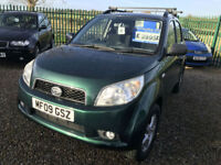 09 DAIHATSU TERIOS 1.5 KIRI 4X4 84000 MILES VERY CLEAN WELL LOOKED AFTER CAR