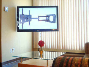 Installation & Pose  de Tele Cinema Maison TV Wallmount
