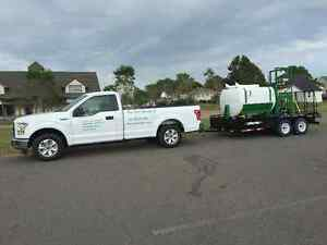 landscaping services, driveway repair and fall cleanup