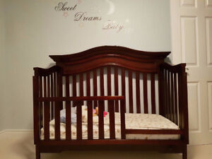 Toddler Bed- turns into crib