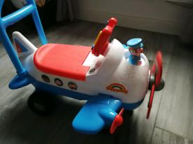ELC Happyland plane ride on