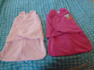 2 Halo SleepSack Swaddle - Pink - Good Used Condition