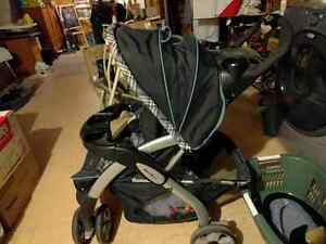 Stroller and infant car seat