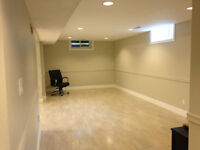 bright basement apartment bolton , separate entrance , all incl.