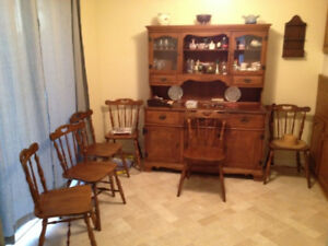Estate Sale - Mid 20th Century Hutch and buffet