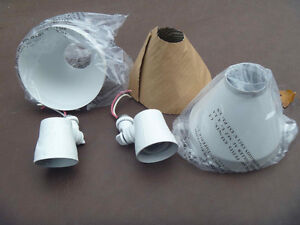 NEW OUTDOOR STANDARD BULB BASES AND SHADES