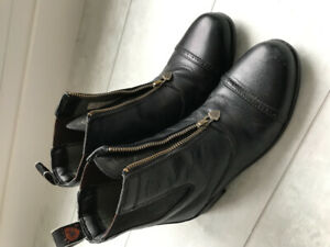 Leather Paddock Boots