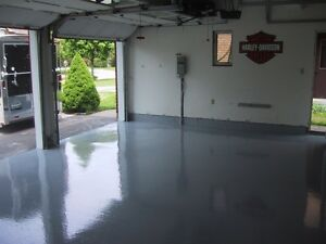 Polished Concrete & Epoxy Coated Garage & Basement Floors Kitchener / Waterloo Kitchener Area image 8