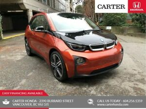 2016 BMW i3 Base w/Range Extender + MANAGERS SPECIAL!