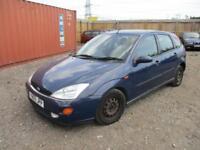 2001 Ford Focus 1.8i 16v Ghia Petrol Manual 5 Door Hatchback Blue Cheap