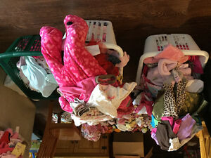 Baby girl clothes newborn to 18 months - about 250 pieces