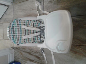 Deluxe Diner Reclining Feeding Seat, very clean/hardly used Kitchener / Waterloo Kitchener Area image 4