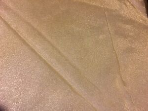 20 gold/champagne organza overlays