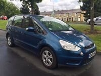 2007 Ford S-Max 1.8 TDCI 2 Owners From New Service History 7 Seater Model Immaculate Condition P/Ex