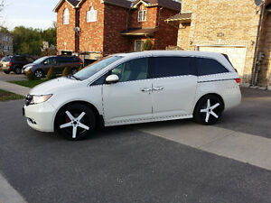 Lease Take-Over: 2015 Honda Odyssey- Touring (Top of the Line)