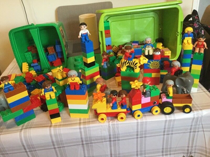 BOXES OF LEGO