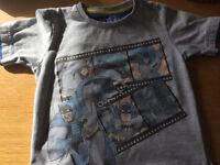 Boys batman tshirt 3-4 years from m&s