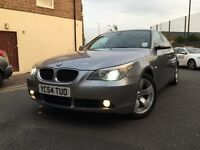 BMW 5 SERIES 530D 2005 AUTOMATIC DIESEL WIDE SCREEN+NW MOT+XENON+BLUETOOTH