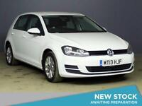 2013 VOLKSWAGEN GOLF 1.6 TDI 105 SE Bluetooth GBP20 Tax 1 Owner