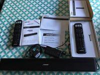 Bose solo 5 soundbar with extra remote