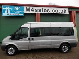 Ford Transit 135ps, 14St Minibus.Full A/con