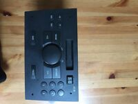 Cassette radio head unit Vauxhall combo