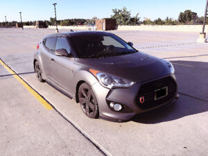 Lowest proice! 2013 Hyundai Veloster TurboMatte Grey Roof Lether