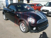 2014 Mini Roadster Cooper Convertible 1.6 DAMAGED REPAIRABLE SALVAGE