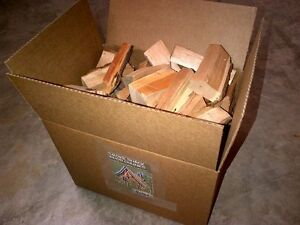 25lbs of 1 kind of wood chunks for smokers, 7 varieties Cambridge Kitchener Area image 1