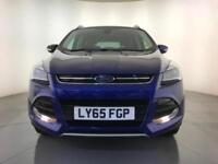 2015 FORD KUGA TITANIUM TDCI DIESEL 4WD AUTOMATIC 1 OWNER FROM NEW