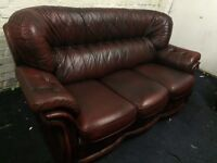 Chesterfield sofa (free delivery)