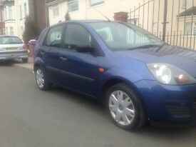 Ford Fiesta 1.4 Zetec 55 plate facelift model