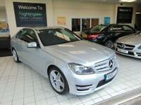 2013 63 MERCEDES-BENZ C CLASS 2.1 C220 CDI BLUEEFFICIENCY AMG SPORT 4D AUTO 168