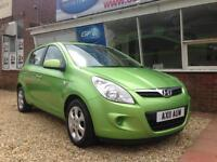 2011 11 Hyundai i20 1.2 Comfort £30 Per year tax. FINANCE AVAILABLE