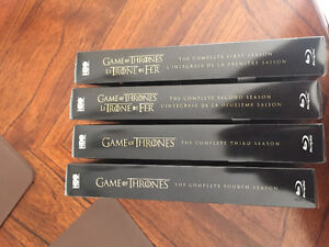 Season 1+2 of game of Thrones steel case limited edition