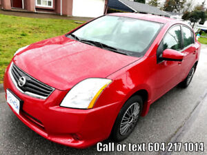 2010 Nissan Sentra .........LOW kilometers