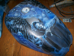 Custom paint and airbrush by Starving Studios