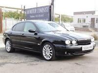 Jaguar X-TYPE 2.0D Sport, Black, 59 000 Miles, FSH, 6 Months AA Warranty
