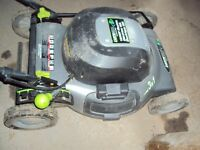 Earthwise 12 Amp 20 inch 3 in 1 electric lawnmower