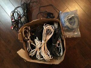 Cables Coax et Ethernet et autres