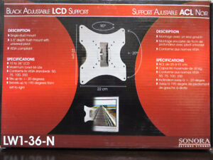 """~~~Brand New in Box Sonora LCD Wall Bracket up to 36"""" TV"""