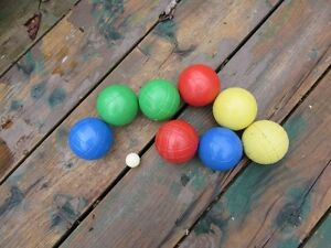 BOCCE BALL SET - REDUCED!!!!