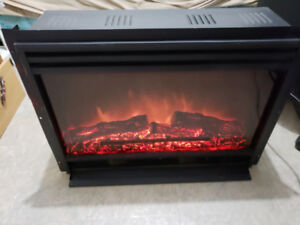 Realistic Loking Flame Electric Fireplace Insert