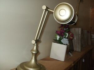Antique/vintage bankers lamp and oak lamps London Ontario image 2