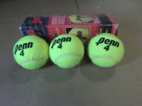 Tennis Balls - total of 33 balls, only $35