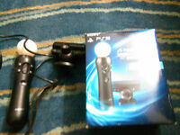 LIKE NEW PS MOVE FOR PS3