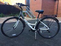 Lady bike + helmet AS NEW