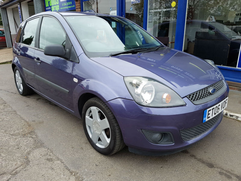 2006 FORD FIESTA 1.4 TDCI ZETEC CLIMATE 5 DOOR PURPLE 109K MOT JULY