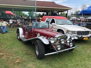 Mercedes gazelle réplique 1929