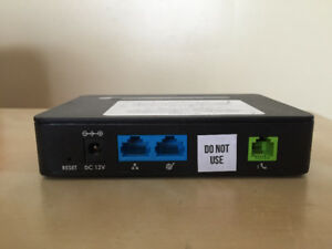 Grandstream GS-HT812 VoIP adapter ATA router